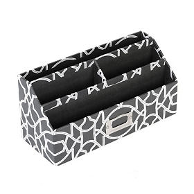 Black and White Desk Organizer