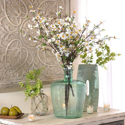 White Apple Blossom Bush, 29 in.