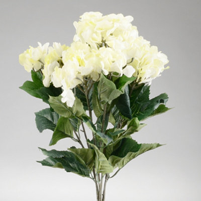Natural White Hydrangea Bush