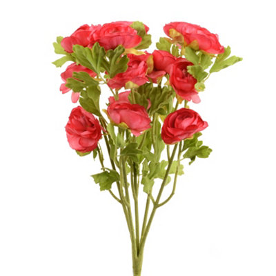 Red Ranunculus Bush