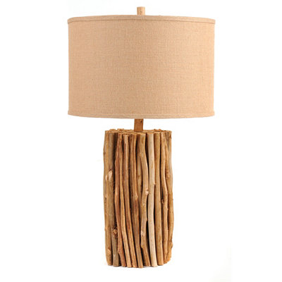 Natural Twig Table Lamp