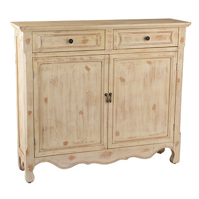 Distressed Natural Cabinet