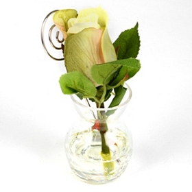 Single Green Rose Arrangement