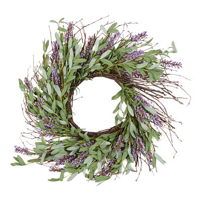 Lavender Wreath, 20 in.