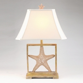 Starfish Frame Table Lamp