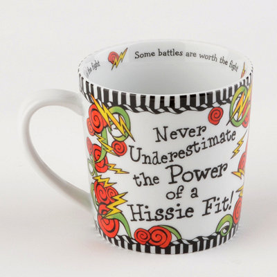 Multi-Colored Hissie Fit Mug