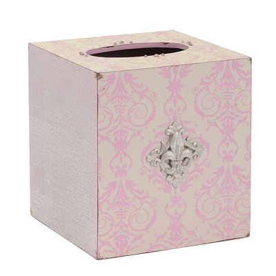 Pink Bella Tissue Holder