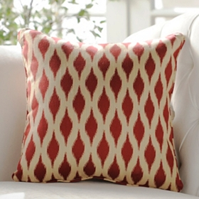 Red Dillon Accent Pillow