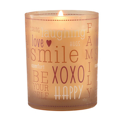 Happy Family Recipe Jar Candle
