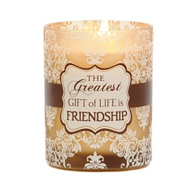 Friendship Is the Greatest Gift Jar Candle