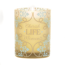 Cherish Life Moments Jar Candle