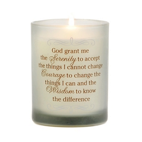 Serenity, Courage, & Wisdom Jar Candle