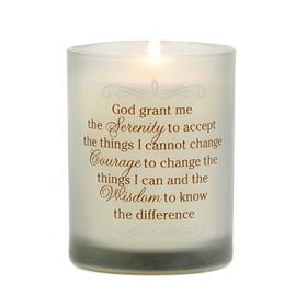 Serenity, Courage, & Wisdom Jar Candle