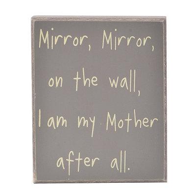 Mirror Mirror Word Block
