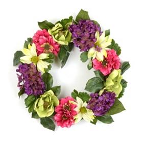 Spring Color Wreath