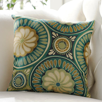 Gypsy Peacock Accent Pillow