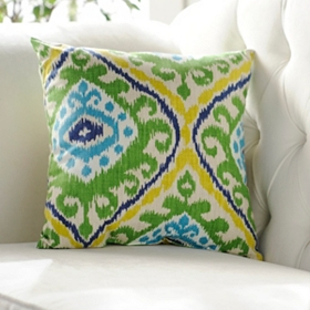 Blue & Green Hayley Pillow
