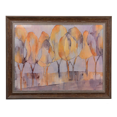 City Park Trees Framed Art Print