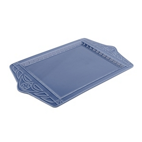 Large Cobalt Blue Ceramic Platter