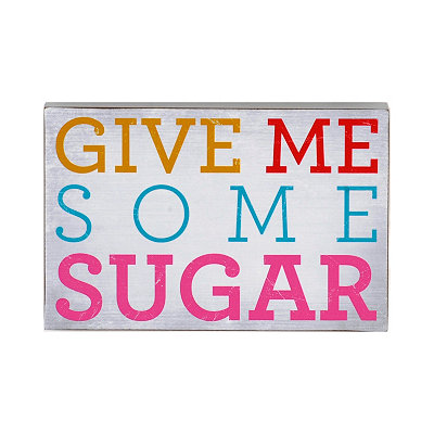 Give Me Some Sugar Word Block