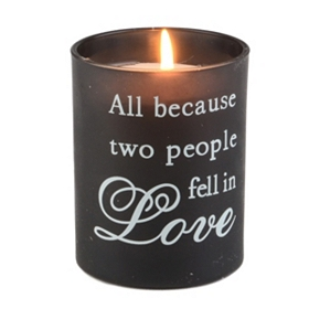 Because Two People Vanilla Jar Candle