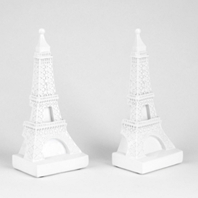 Eiffel Tower Bookends, Set of 2
