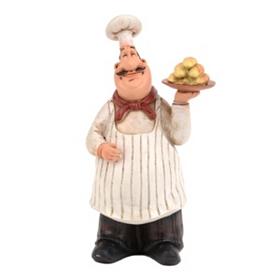 Bistro Chef Statue