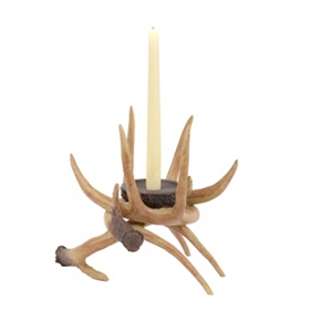 Entwined Antler Candle Holder