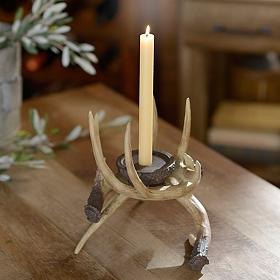 Entwined Antler Candle Holder