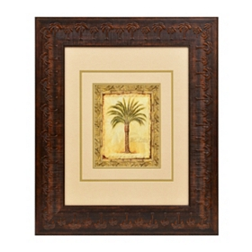 Majestic Palms II Framed Art Print
