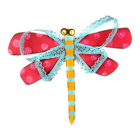 Dapper Dragonfly Plaque