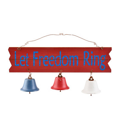Let Freedom Ring Wall Plaque