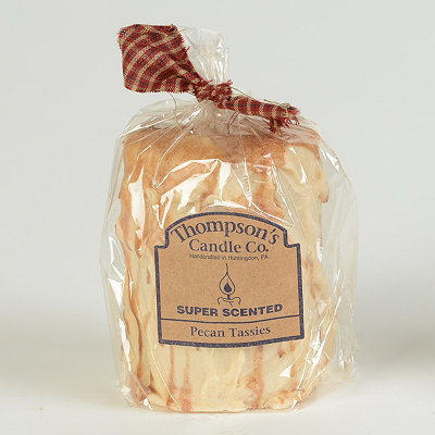 Pecan Tassies Pillar Candle, 4.75 in.