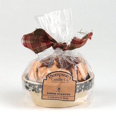 Cinnamon Bun Cupcake Votive Candle