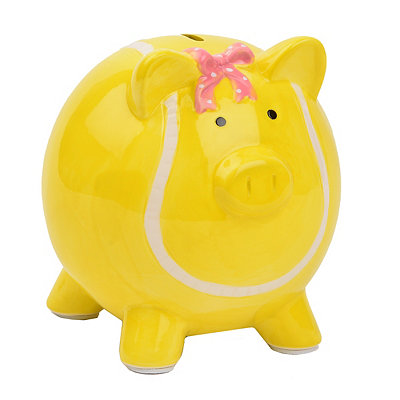 Yellow Tennis Buddy Piggy Bank