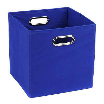 Solid Blue Storage Bin