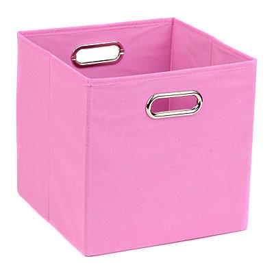 Solid Pink Storage Bin