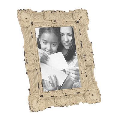 Ornate Vintage Ivory Picture Frame, 5x7