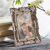 5x7 Ornate Vintage Gray Picture Frame