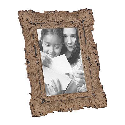 Ornate Vintage Tawny Picture Frame, 5x7