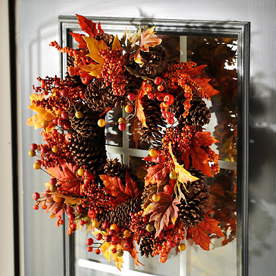 Fallen Autumn Wreath