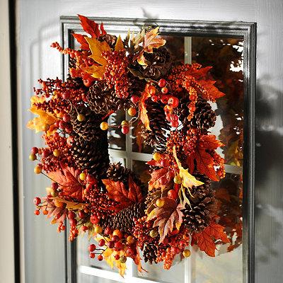 Fallen Autumn Wreath