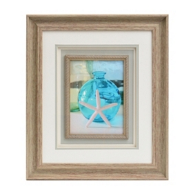 Starfish & Vase I Framed Art Print