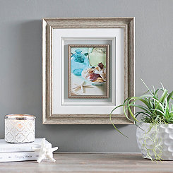Starfish & Vase II Framed Art Print
