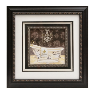 The Lady's Bathtub Framed Art Print