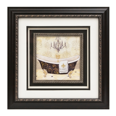 The Gentleman's Bathtub Framed Art Print