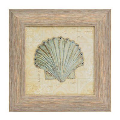 Beach Treasures I Framed Art Print
