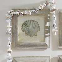 Beach Treasures I Framed Art Print
