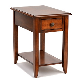Medium Brown Accent Table