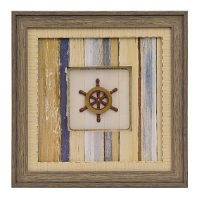 Ship's Wheel Shadowbox